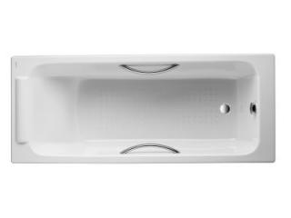 Ванна чугунная PARALLEL E2948 (170x70см), с отверстиями для ручек